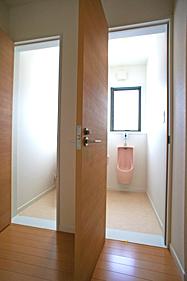 トイレも全て新しくしました。