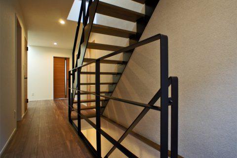 アイアン製直階段
