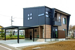 上越市 住宅新築「おとなCafé Living」