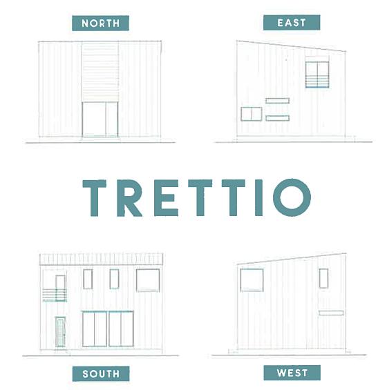 トレッティオ立面図