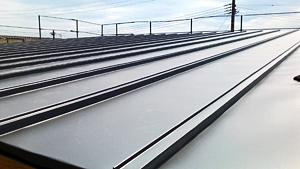 屋根ガルバリュウム鋼板