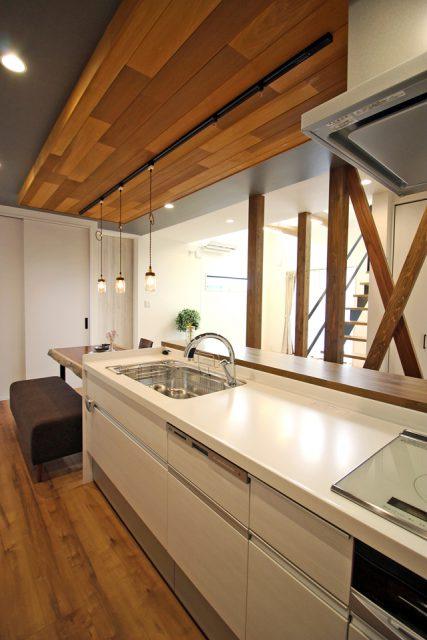 上越市 住宅新築 キッチン