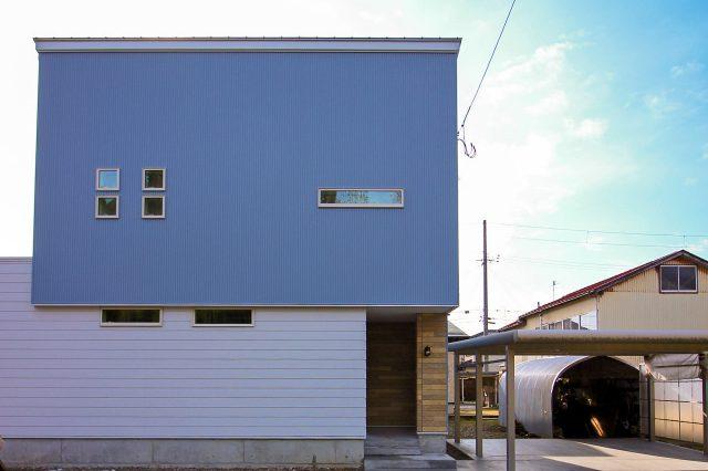 ゼロエネ住宅 すべり台のある家