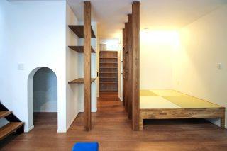 ゼロエネ住宅 畳スペース