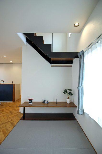 ロフトのある家 畳スペース