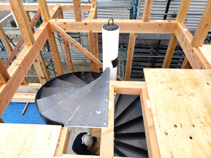 螺旋階段 設置