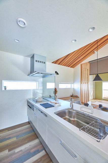 住宅新築 キッチン