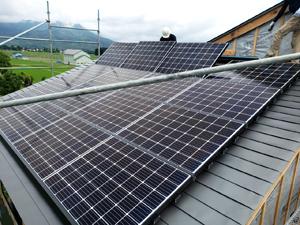 住宅新築 太陽光パネル